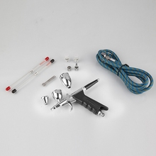 Dual-action Air Brush 0.2/0.3/0.5mm Needle Airbrush For Painting Cars Air Brush Spray Pen Aerograph Kit Akvagrim Tattoo