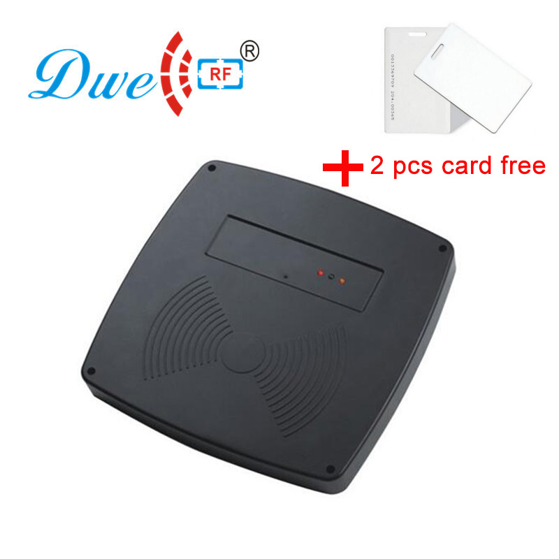 DWE CC RF access control card reader 125khz long range reader car parking middle range reader 125khz rfid readers rs232 125khz rfid reader