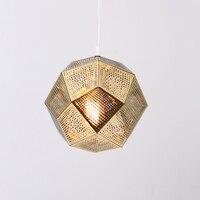 Modern Chandelier Light Single Heads Hanging Lamps For Living Room Kitchen Design Vintage Adjusted Heigth Gold