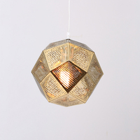 Modern Chandelier Light Single Heads Hanging Lamps For Living Room Kitchen Design Vintage Adjusted Heigth Gold