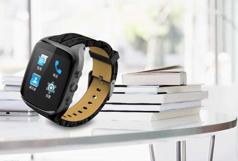 Smartch X01S חכם שעון אנדרואיד OS 5.1 1.54 inch MTK6580 ROM 8 gb + RAM 512 mb עמיד למים GPS הכבידה חיישן פדומטר BT4.0 שעון
