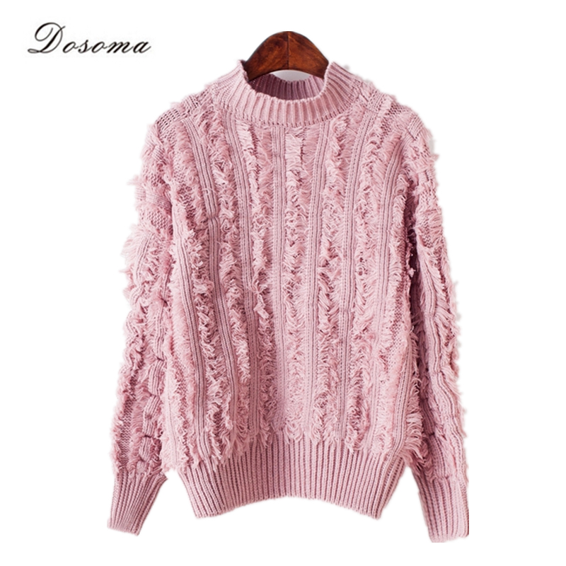 fa0e91a76 tassel sweater women 2016 autumn winter elegant women sweater and ...