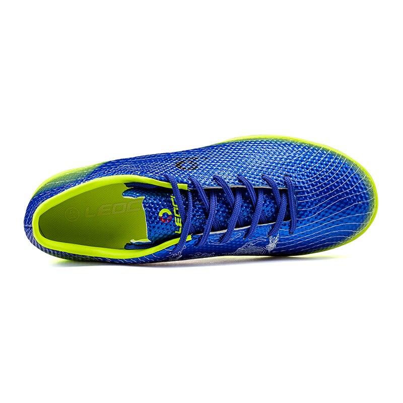 US $22.89 22% di SCONTO|Uomini TF Scarpe Da Calcio Ragazzi Bambini scarpe Da Calcio Plus Size Calcio Tacchetto Calcio Indoor Scarpe Chaussures de Foot