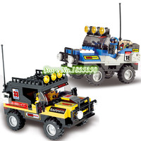 SLUBAN 0133 Rally Race Suv Car Building Blocks Compatible Sand Buggy Toy 172 Pcs Model Bricks