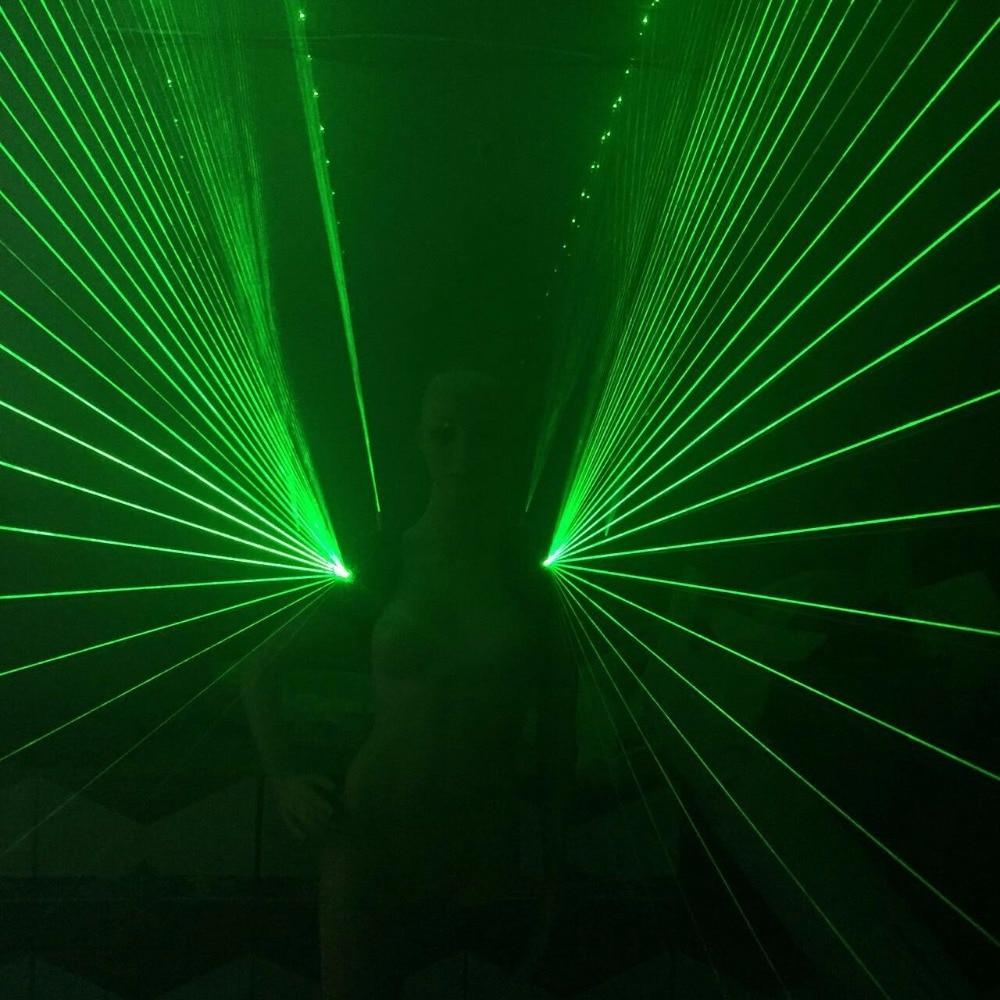 Uusi muotoilu Vihreä Laserman-olkapääpuku Liivi valoisa vyötärö - Tavarat lomien ja puolueiden - Valokuva 5