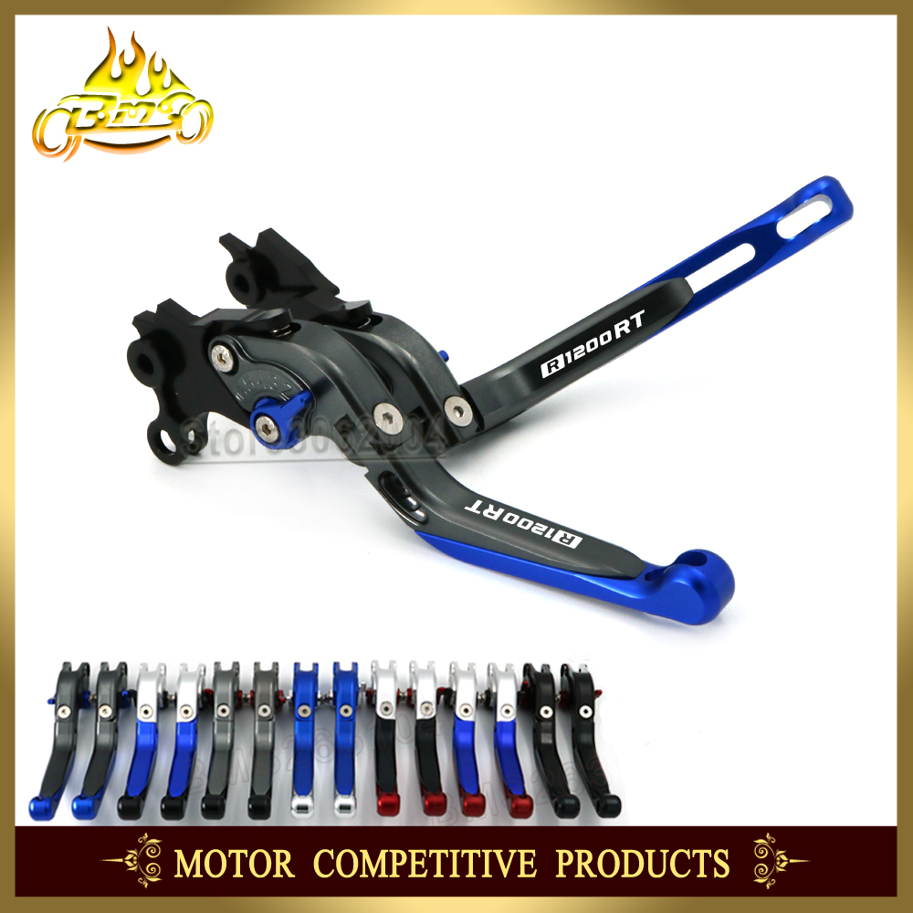 Folding Extendable Adjustable Brakes Clutch Levers Motorcycle Accessories For BMW R1200RT R1200 RT 2010 2013 2012