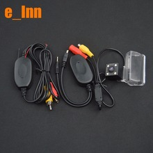 Wireless Car Rear View Camera For Peugeot 206 207 407 307 sedan for car dvd player/gps