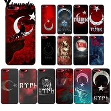 Yinuoda Flag of Turkey Istanbul Antalya mustafa Galatasaray Wolf Phone Case for iPhone X XS MAX  6 6s 7 7plus 8 8Plus 5 5S SE XR