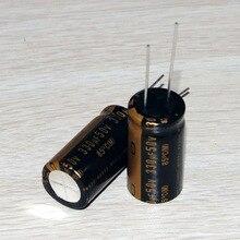 все цены на 30PCS new Japanese original nichicon electrolytic capacitor audio KZ 330Uf/50V capacitor free shipping онлайн