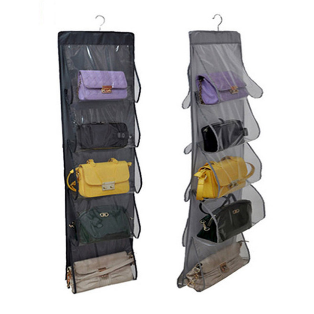 10 Pocket Family Organizer Backpack Handbag Hanging Holder Storage Bags  Closet Shoe Bag Rack Hangers Home