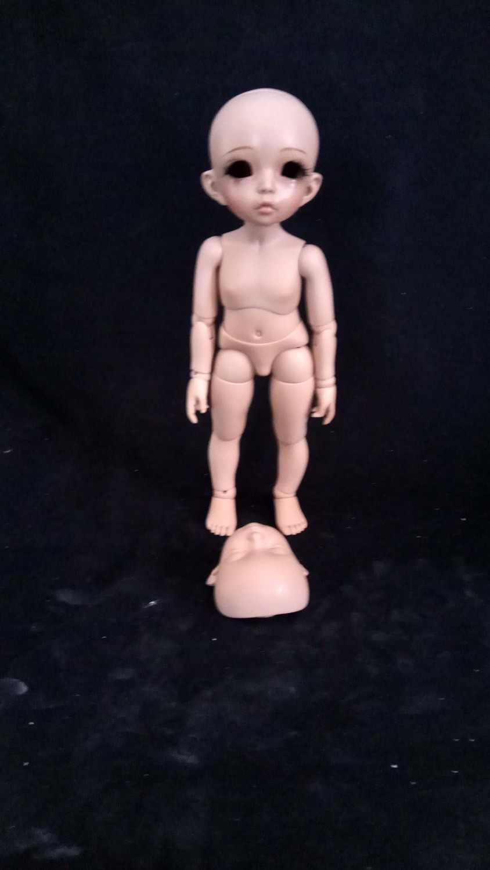 AQK (AQK) 1/6 BJD/два лица Эльф девушка кукла точки свободные глаза