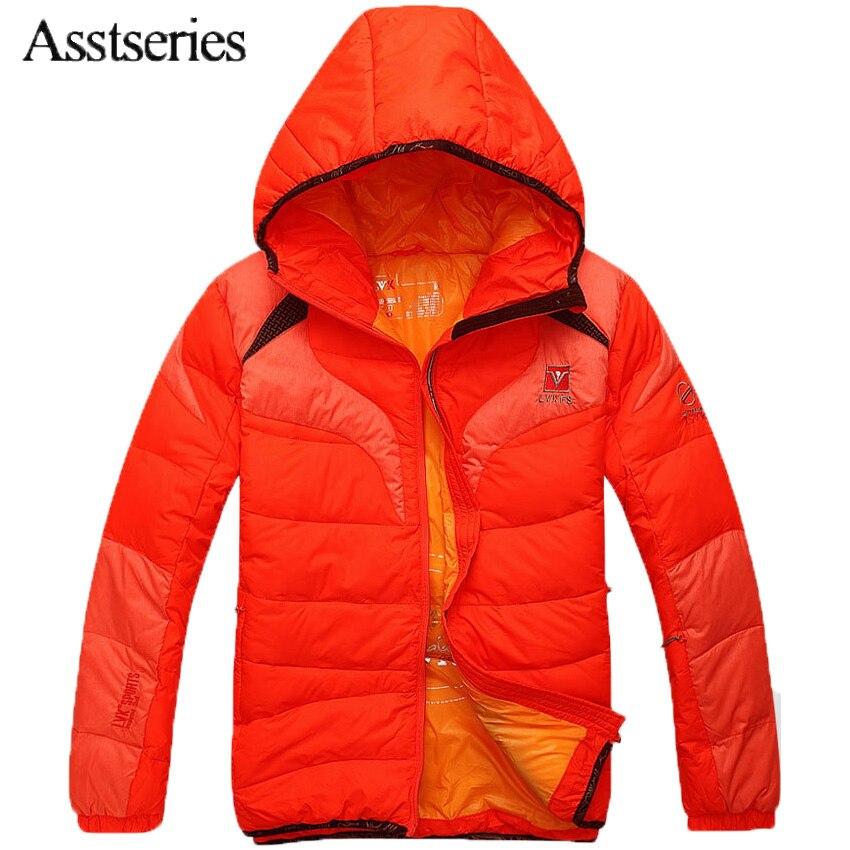 Бесплатная доставка 2018 Новое поступление Для мужчин Зимние Модные Повседневное Парка на пуху Для мужчин; зимняя куртка ветрозащитная высокое качество Размеры M-3XL 45hfx