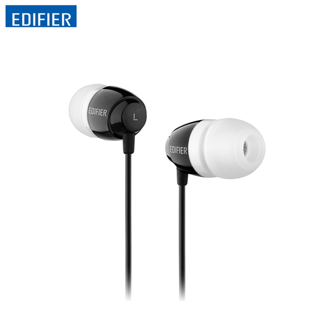 Edifier H210 In-ear Earphone Noise-isolating HIFI Earphones Clearer Sound Bass Headset 3.5mm Aux for iphone xiaomi huawei Tablet