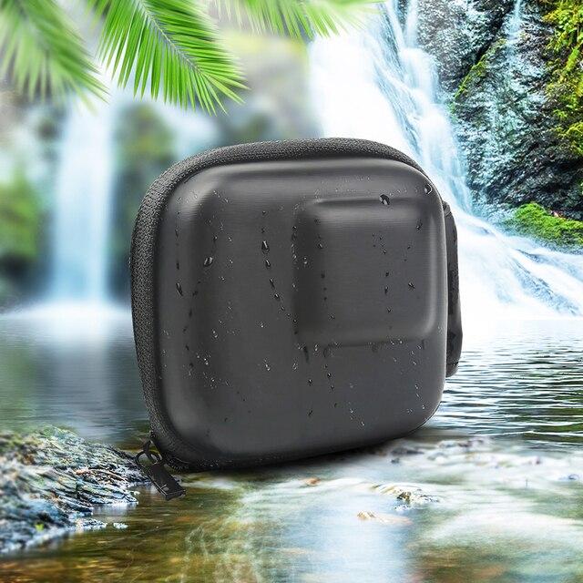 Custodia GoPro Hero 8 7 6 5 Nero Mini EVA di Protezione Caso Di Immagazzinaggio Del Sacchetto Scatola di Montaggio per Go Pro hero 8 7 5 Nero Accessori In Argento 6