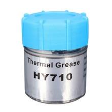 Высокое качество HY710 10 г серебряное силиконовое соединение Теплопроводящая смазка охлаждающий кулер силиконовая смазка для радиатора процессора