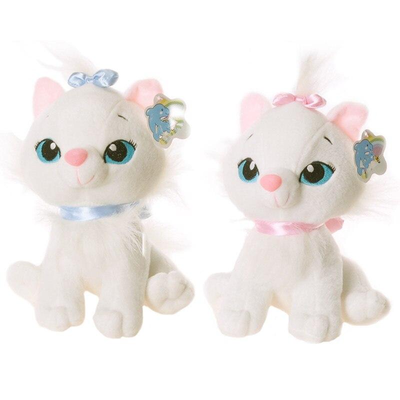 1pc 18cm Cute Aristocats Cat Plush Toys Marie Cat Plush Dolls Soft Stuffed Animals Toys For Children