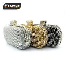 3 Colors Available Female Clutch 2016 Luxury Handbags Diamond Evening Bag Bling Banquet Party Wedding Purses Clutch Wallet