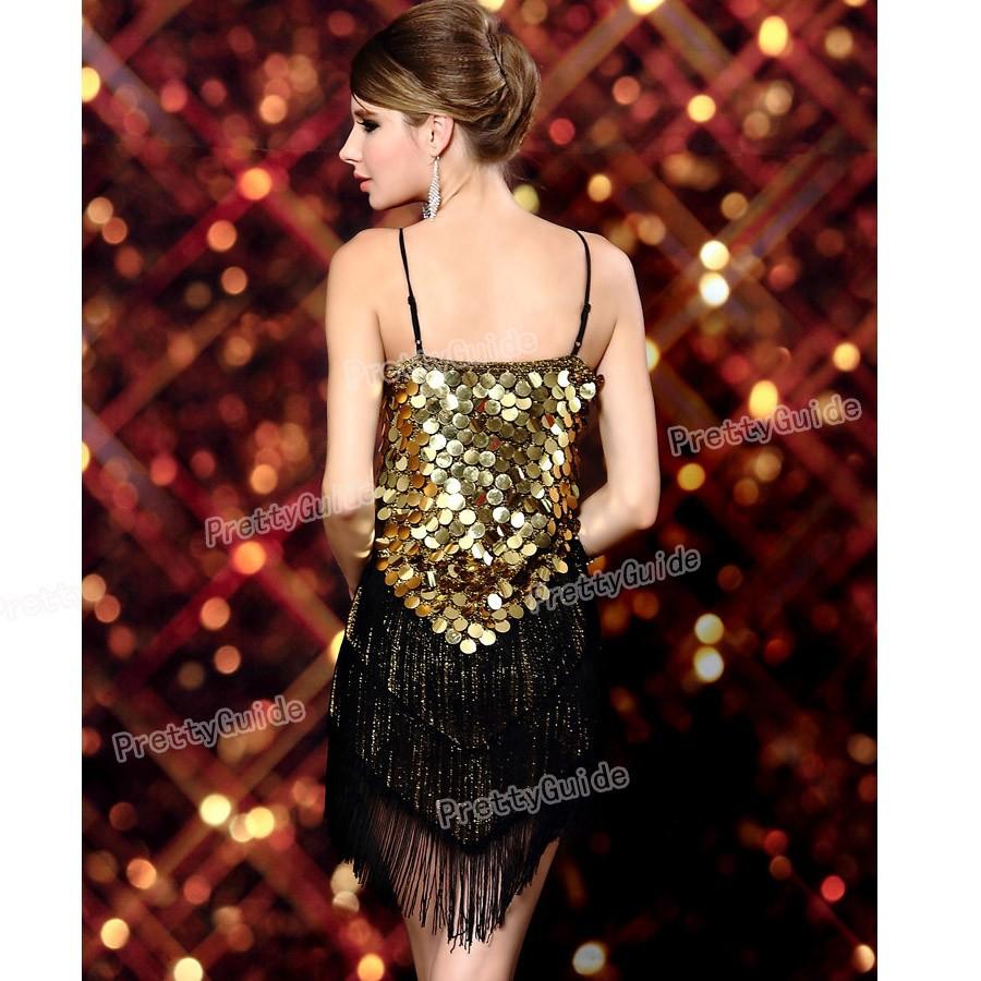 db569c3e504d 2015 Free shippingWomen's 1920s Sequin Fringe Sway Gatsby Flapper ...