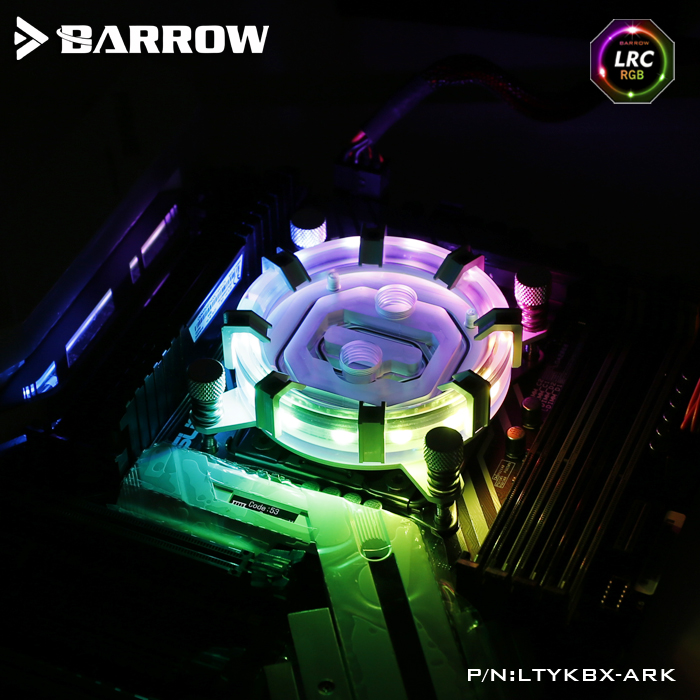 Barrow LRC RGB v2 Aurora Limited Edition CPU waterblock 0.4MM microcutting micro waterway LTYKBX-ARK for X99(Transit to X299) air air the vigin suicides limited edition 2 cd 3 lp