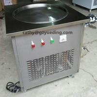 60cm big pan stainless steel fry ice cream machine roll ice cream machine ice cream roll machine