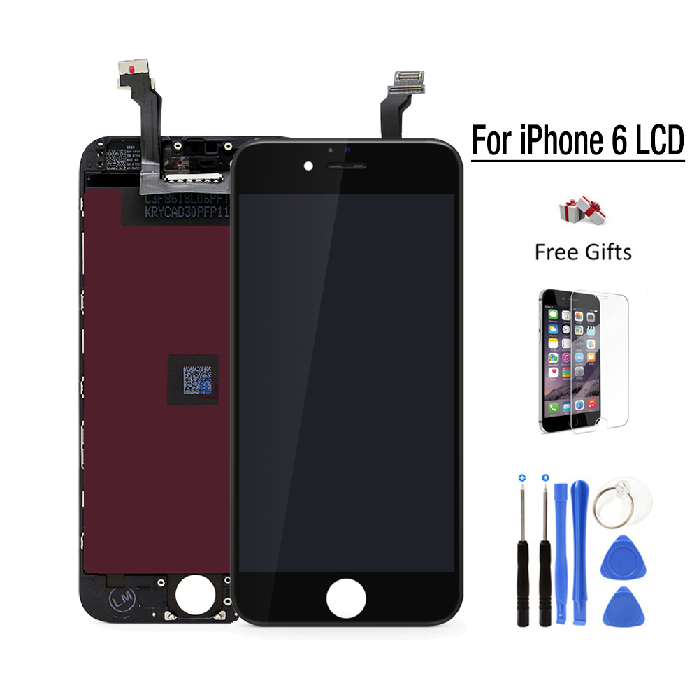 Best AAA Quality For apple iPhone 6 LCD pantalla ecran iphone6 Touch Screen replacement 4.7 Display Digitizer Assembly