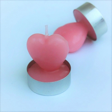 Heart Shaped Candle Funny Candles Fun Wax Pink Scented Birthday Wedding Decoration Bougie Decoratif Tealight 50KO324