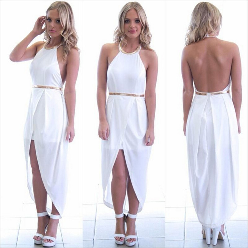 Online Shop Summer Maxi Dress Sexy Club Bodycon Bandage Party ...