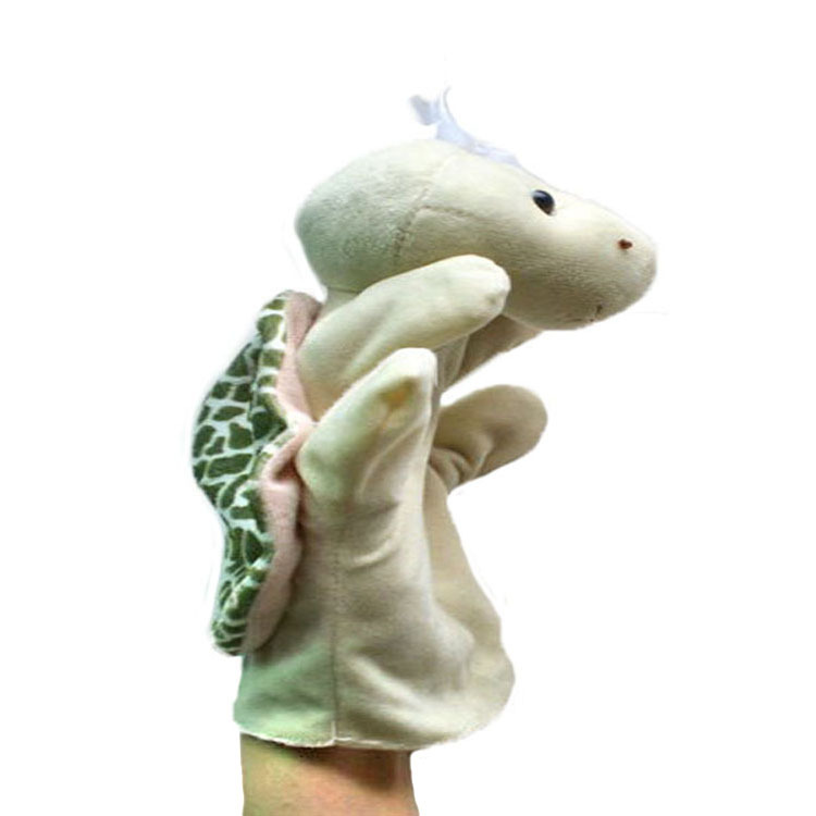 27 colors Interactive with Kids Hippo Hand Puppets Finger Toys Baby Dolls Plush Puppets bedtimes Christmas Toys for Children