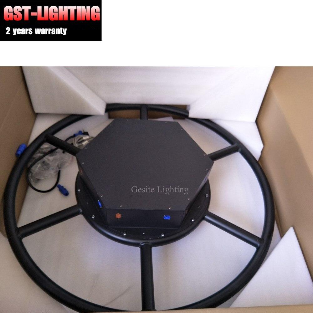 DMX 512 Aluminum Rotating Lighting Circle Truss
