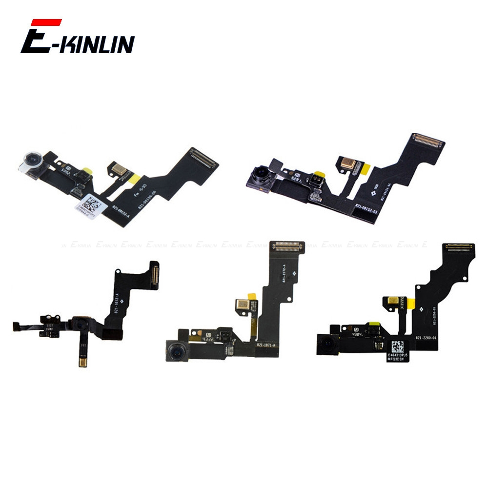 For IPhone 4 4S 5 5S SE 5C 6 6S Plus Small Front Face Facing Camera Flex Cable With Proximity Sensor Light Microphone