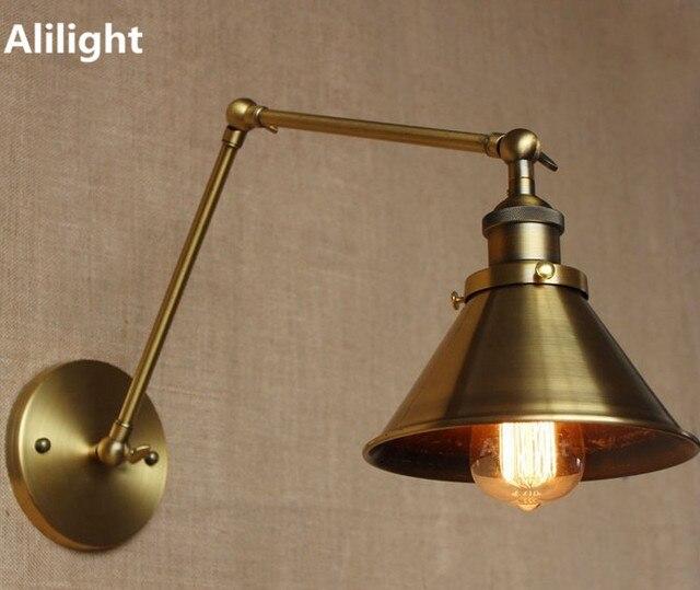 Nordic Loft Style Vintage Wall Lamp Indoor Wall Light Industrial ...