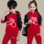 2016 Niños Ropa de bebé Niño Establece Conjunto Ropa de Los Muchachos Del Juego Del Deporte Niñas Otoño Prendas de Vestir Exteriores + pantalones Ropa de Los Niños Encapuchados Chándal 2 unids