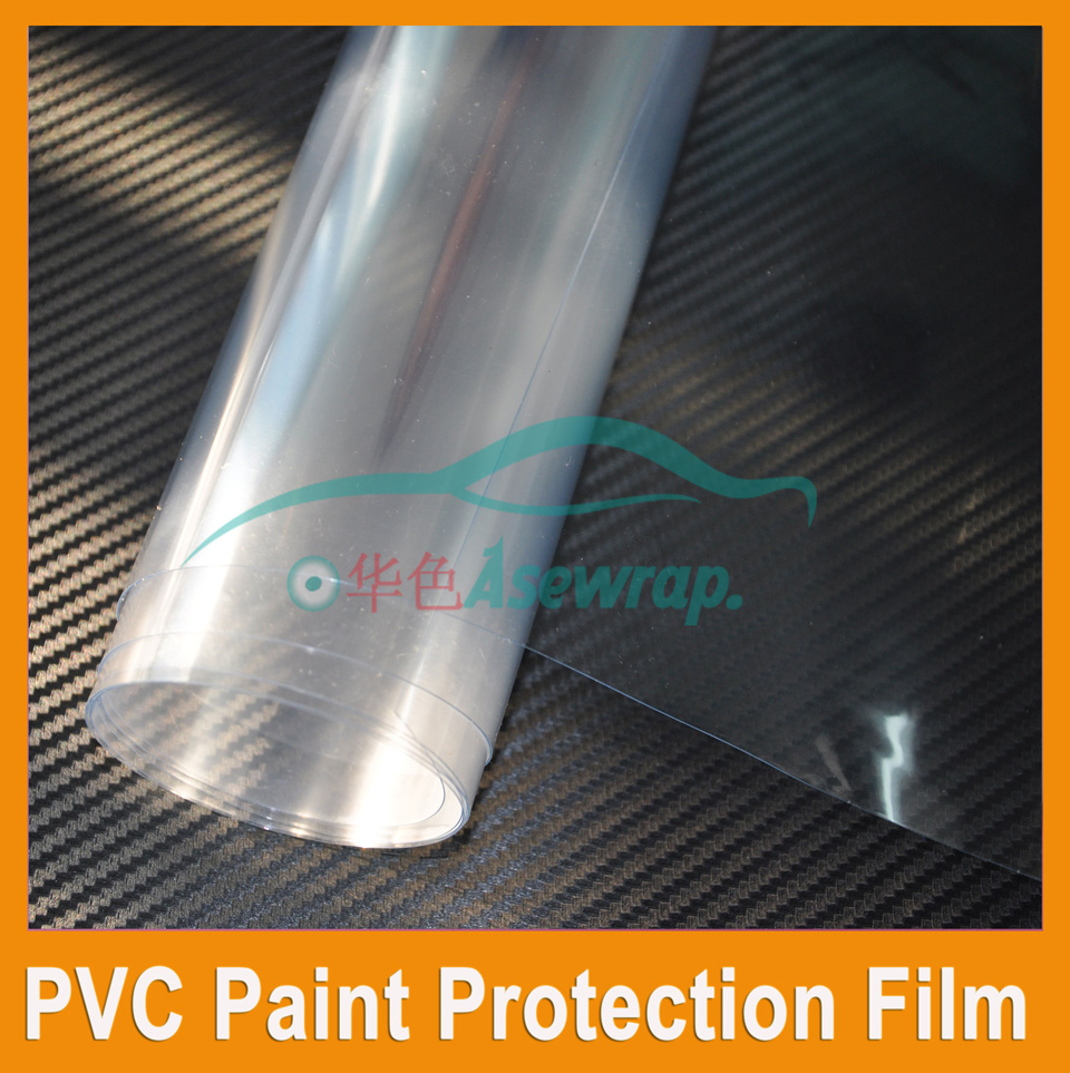 Livraison gratuite 15 m un lot Haute transparent peinture de voiture de protection film D'enveloppe de Vinyle De Voiture Wrap Brillant Wrap Film autocollant de voiture wraps