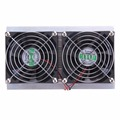 2016 120W 2 x Fan DIY Thermoelectric Peltier Refrigeration Cooling System Kit Cooler Eletronic