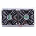 2016 120 W 2 x Fan DIY Termoelétrica Peltier de Refrigeração Sistema de Resfriamento Kit Cooler Eletronic