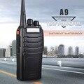 Zastone ZT-A9 10 W de Alta Potência UHF 400-480 MHz Handheld Walkie Talkie CB Rádio Transceptor