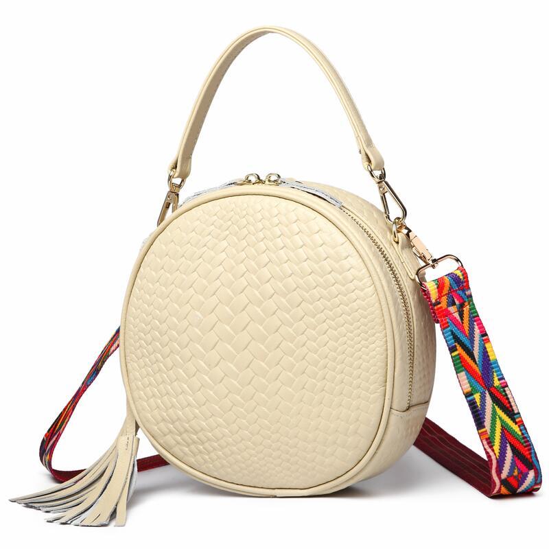 100% Echtem Leder Frauen Umhängetasche Handtasche Berühmte Marke Leder Weibliche Schulter Tasche Umhängetasche Für Frauen 2019 Neue Durch Wissenschaftlichen Prozess