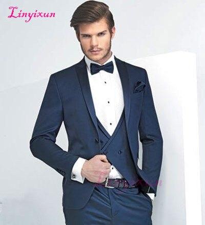 Linyixun personnaliser les deux boutons la robe de la mariée le marié, détient le meilleur costume masculin le mariage