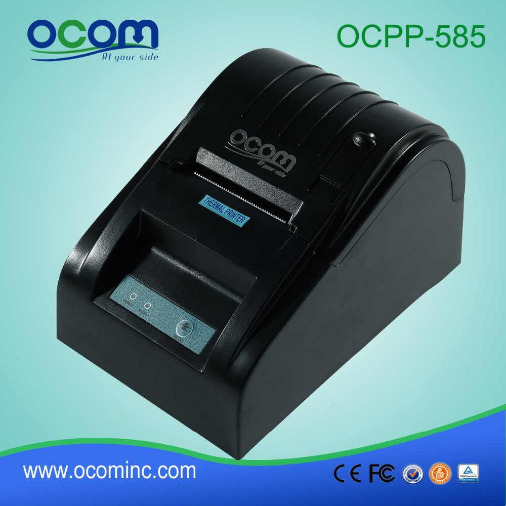 ФОТО OCPP-585-P-B 2 Inch Android Parallel Port Black POS Thermal Ticket Printer