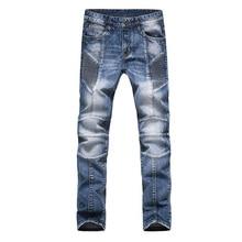 Моды для Мужчин Джинсы Новое Прибытие Дизайн Slim Fit Модные Джинсы Для Мужчин Хорошее Качество Синий Черный