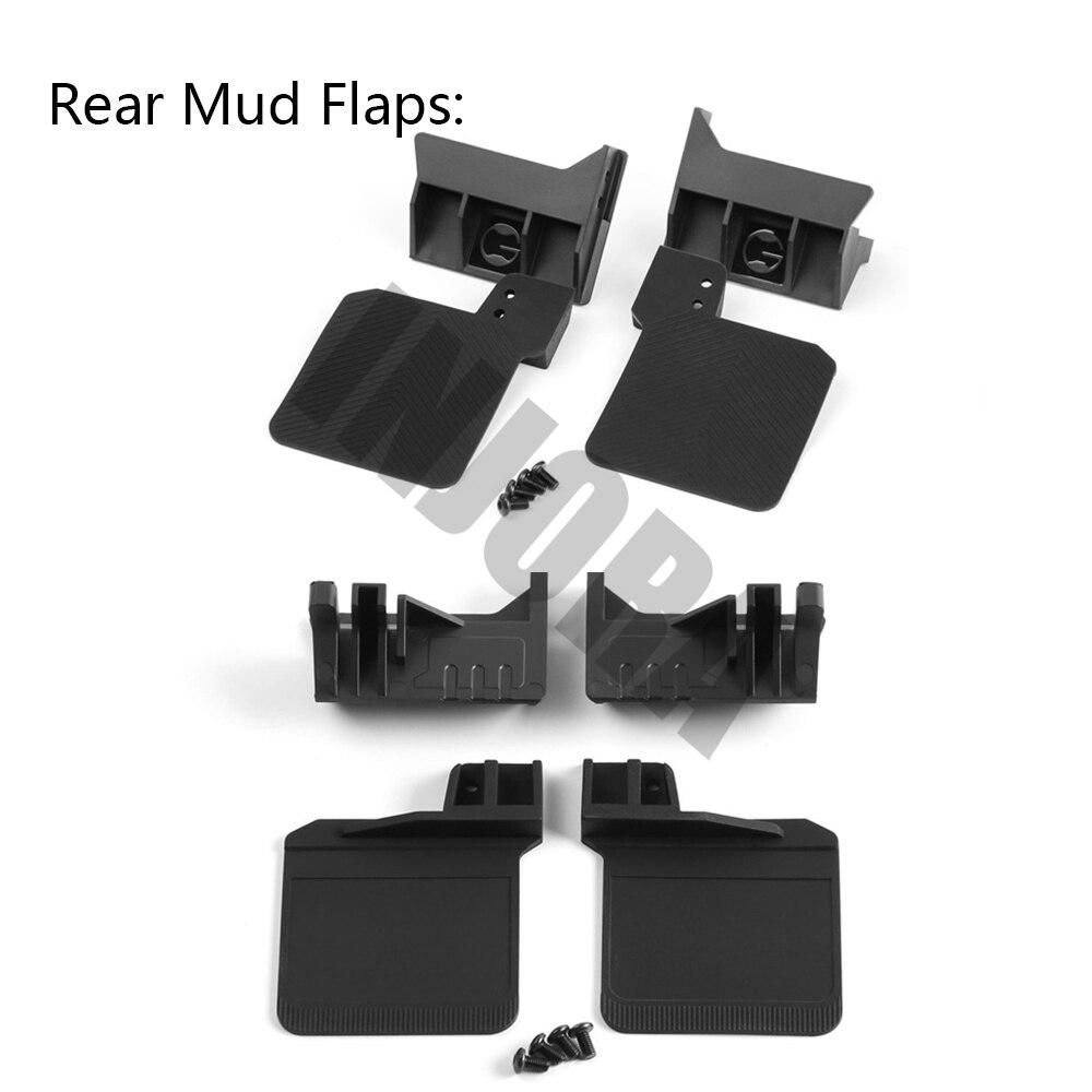 Image 4 - INJORA TRX4 RC Car Front & Rear Mud Flaps Rubber Fender for 1/10 RC Crawler Traxxas Trx 41/10 rcrc crawlercrawler rc 1/10 -