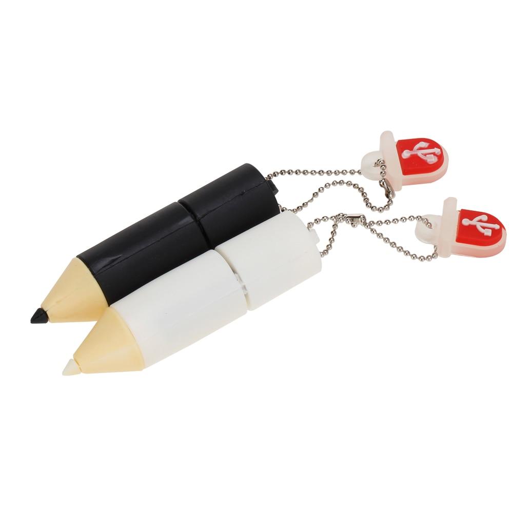 Mini Cartoon Pencil Flash Memory Stick 4gb 8gb 16gb Usb Flash Drive 2.0 32gb Pen Drive 64gb 128gb High Quality Classic Pendrive (2)