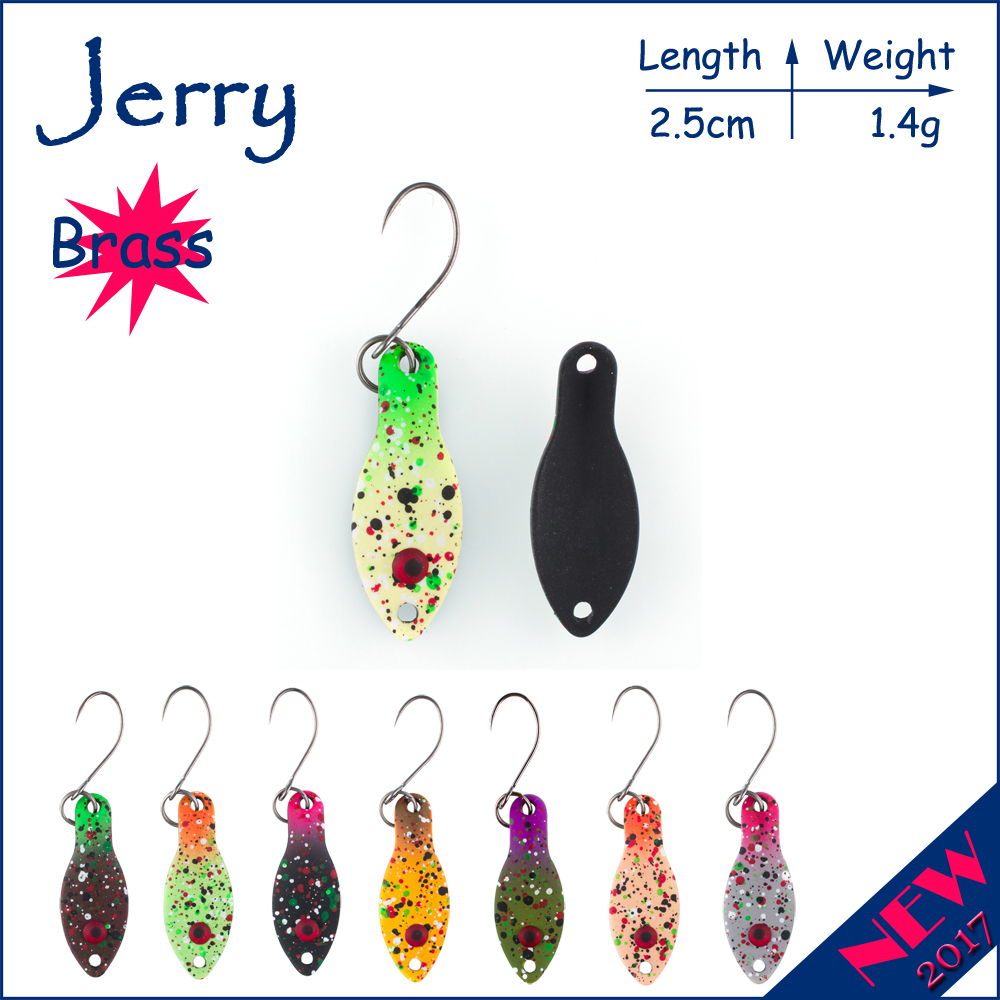 Jerry 1pc 1.4g ultralight lure mini trout spoons floating minnow wobbler spinner bait fishing spoons finesse fishing цена и фото