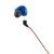Kz zst wired cable desmontable abs con cancelación de ruido en la oreja los auriculares para el teléfono móvil del ordenador portátil reproductor de medios
