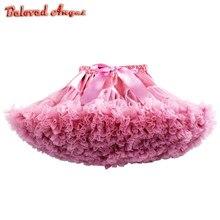 2019 novo bebê meninas crianças tutu saia crianças dança pettiskirt festa ballet camada macia princesa festa de aniversário saia crianças vestido de baile