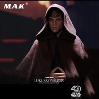 1/6 Scale Full Set Action Figure Luke Skywalker Star Wars: Return of the Jedi Black Ver. Figure Toy for Collection Gift