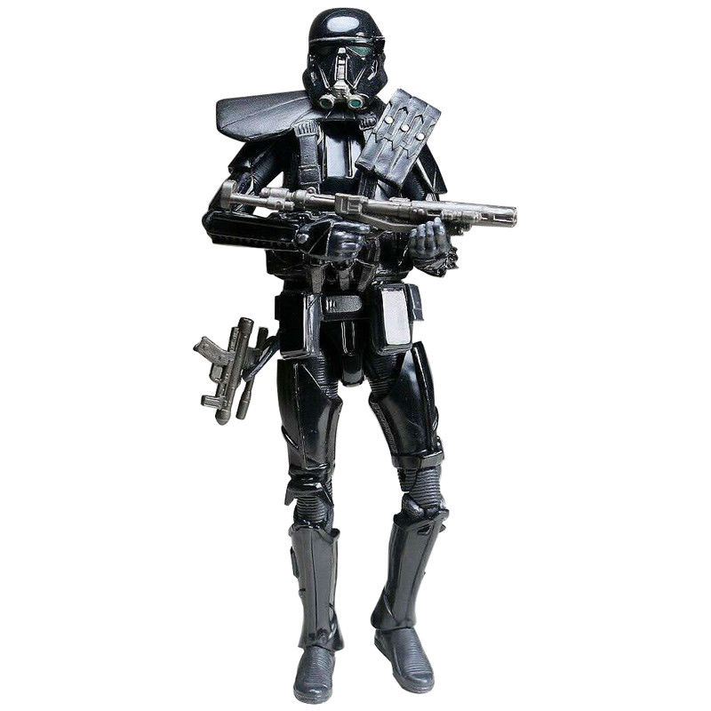 Star Wars Movie Action Figure Death trooper figure Model Collection Toys 6'' for Children Gift Boy Birthday Gift Without Box 24 pcs set the elves papa smurfette clumsy figures elves papa action figure for children toys dolls blue color birthday gift