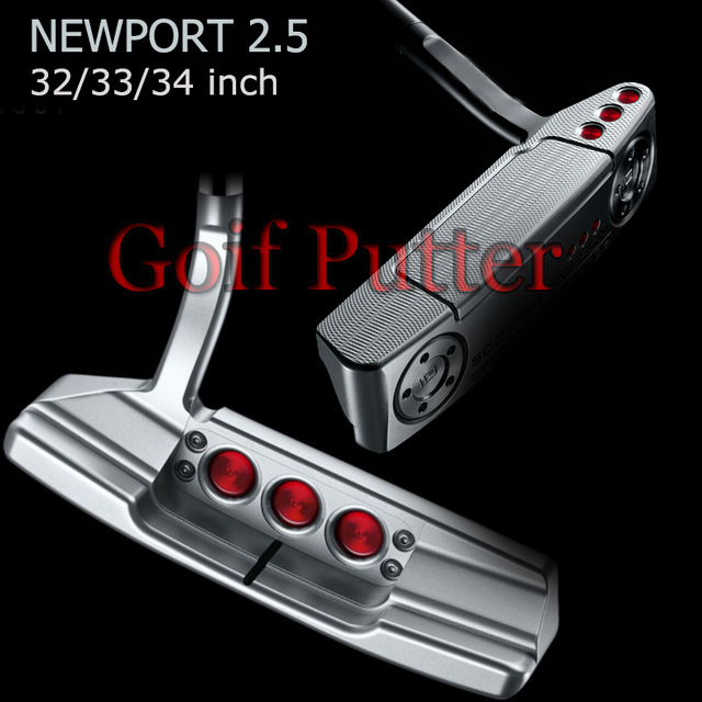 Advanced Golf Clubs Golf Putter 32 33.34.35 Inch For Right Hand silver new port 2.5