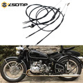 Тормозной кабель ZSDTRP для мотоцикла  трос дроссельной заслонки/сцепления/кабель для одометра Урал M72 Чехол для BMW R1 R12 R 71