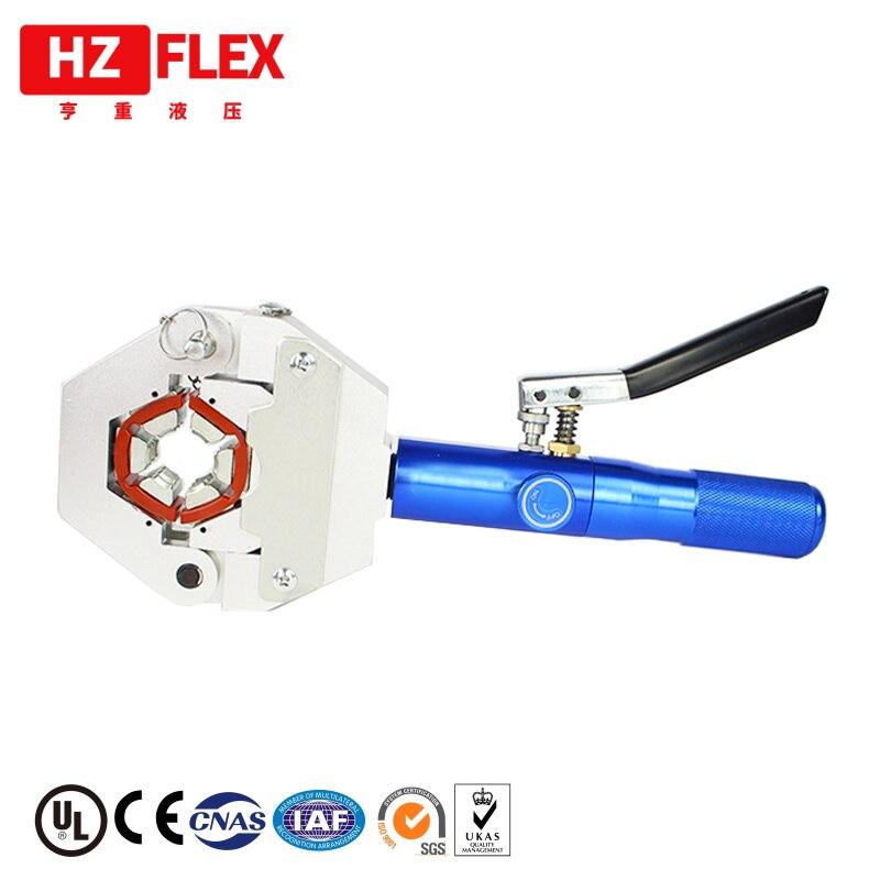 Outil de montage de presse à main pour outil de sertissage de tuyau de climatisation